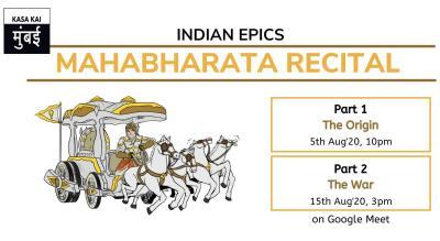 Mahabharata Recital : The Origin - The War At Google Meet