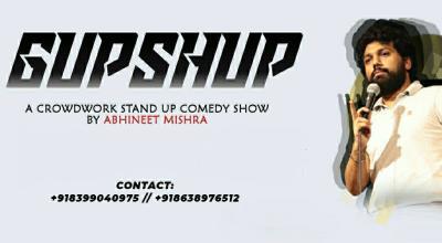 Abhineet Mishraa - Gupshup A Crowdwork Comedy Show
