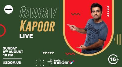 Gaurav Kapoor Live