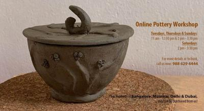 Online Pottery Workshop