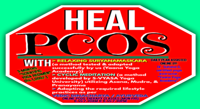 Heal PCOS - Online Yoga Therapy