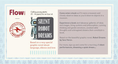 Museum in a Book: SILENT ROBOT DREAMS: A creative exploration for young adults