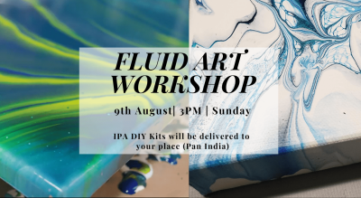Fluid Art Workshop with IPA DIY Kit (Blow Technique)