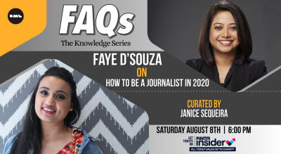 FAQs - The Knowledge Series | Faye D'Souza with Janice Sequeira on How to be a Journalist in 2020