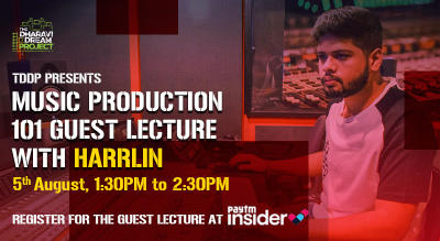 Music Production 101 with Guest Artist 'Harrlin'