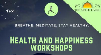 Art of Living's Health and Happiness Workshop