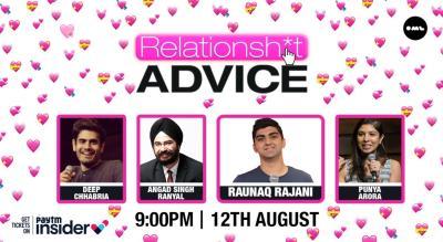 RelationShit Advice | ft. Deep Chhabria, Angad Singh Ranyal & Puniya Arora