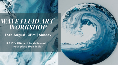 Wave Fluid Art Workshop - IPA DIY Kits