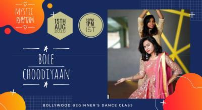 Mystic Rhythm Bollywood Workshop