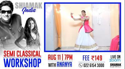 Semi-Classical Workshop with Ananya | SHIAMAK Online Dance Classes