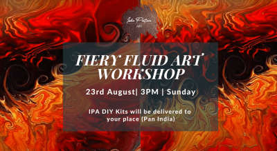 Fiery Fluid Art - IPA DIY Kits