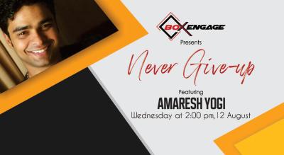 Never Give Up ft. Amaresh Yogi