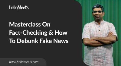Masterclass on Fact-Checking & How To Debunk Fake News
