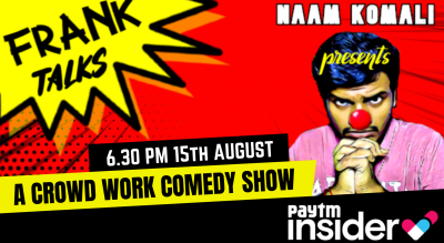Frank Talks LIVE- A CROWD WORK Improv Comedy Show