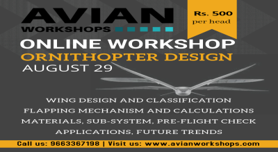 Online Workshop on Ornithopter Design