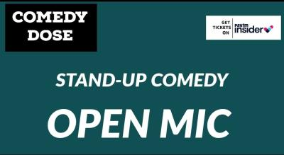 Open mics by ComedyDose