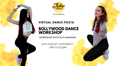 Virtual Dance Fiesta – Bollywood Dance Workshop
