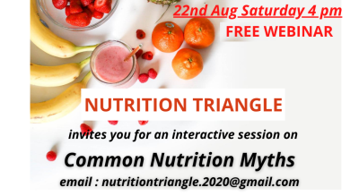 Common Nutrition Myths Busted - Free Webinar by Nutrition Triangle
