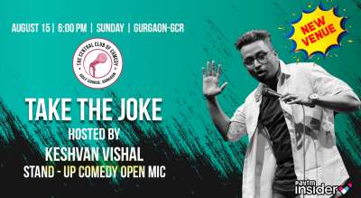 Take a Joke - Stand up comedy open mic