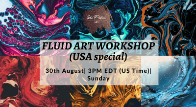Fluid Art Workshop (USA Special) - IPA DIY Kit