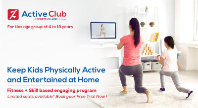 Active Club - Online Physical Fitness Classes for kids at Home