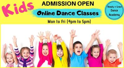 Online Bollywood/Freestyle Regular Dance Class For Kids
