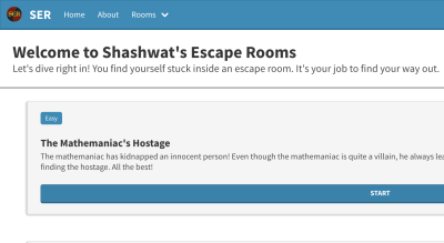 Shashwat's Escape Rooms