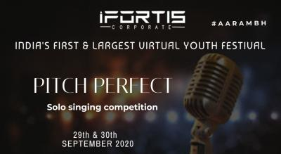 PITCH PERFECT- SOLO SINGING COMPETITION
