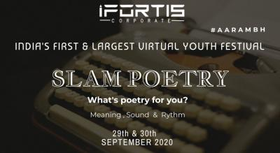 SLAM POETRY COMPETITION