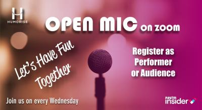 Open Mic frm Home by Humorise