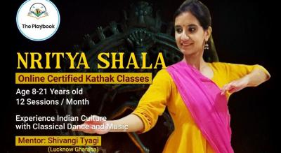 Nritya Shala: Learn Kathak with Shivangi, Monthly Course