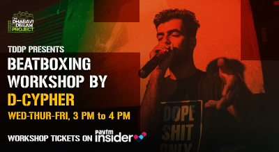 BeatBoxing workshop by D-Cypher at TDDP's SchoolofHipHop! (sept)