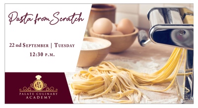Pasta From Scratch with Rakhee Vaswani