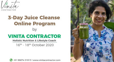 3-Day Online Juice Cleanse Program with Vinita Contractor