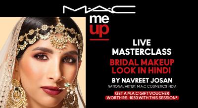 Bridal Makeup Look in Hindi | M.A.C Cosmetics
