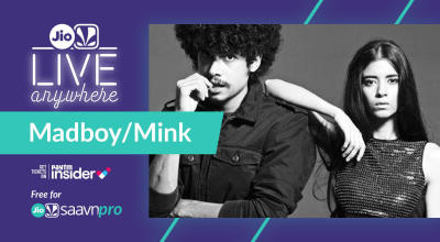JioSaavn - Live Anywhere: Madboy/Mink