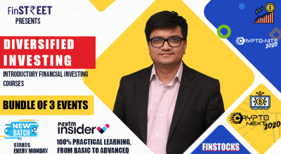 Diversified Investing : Introductory Financial Investing Courses (Bundle of 3 events in crypto & stock investing)