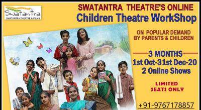 Swatantra Theatre's Online Children Theatre WorkShop