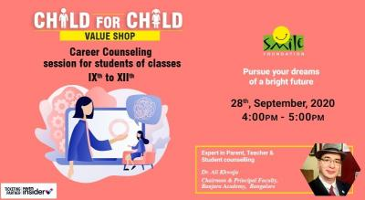 Child for Child Webinar on Career Counselling