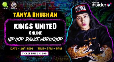 Hip Hop MasterClass with Tanya Bhushan | The Kings Dance Studio Online