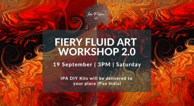 Fiery Fluid Art - IPA DIY Kits