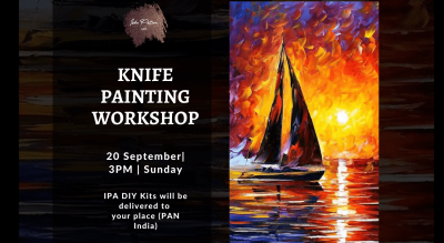 Sunset Knife Painting Workshop - IPA DIY Kits