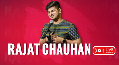 Rajat Chauhan Stand Up Comedy Live