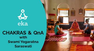 Chakras & QnA with Swami Yogaratna Saraswati