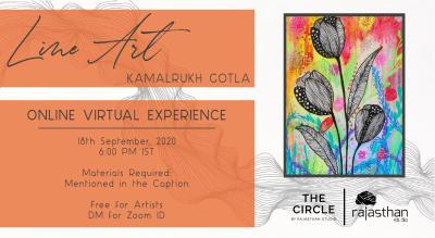 Line Art Workshop with Rajasthan Studio