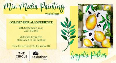 Mix Media Painting Workshop by Rajasthan Studio
