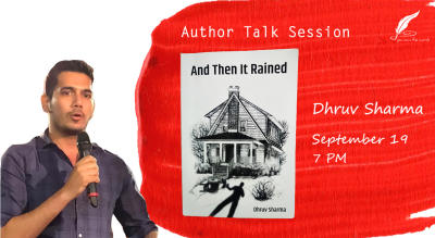 Author talk session with Dhruv Sharma