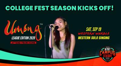 Western Warble   Umang 2020   ATKT Campus League