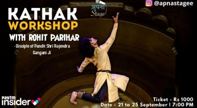 Kathak Workshop (Rohit Parihar)