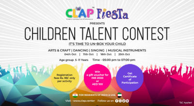 CLAP FIESTA CHILDREN TALENT CONTEST